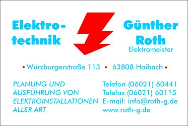 Elektrotechnik G. Roth